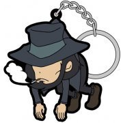 Lupin the Third Part 5 Tsumamare Keychain: Daisuke Jigen (Re-run) (Japan)