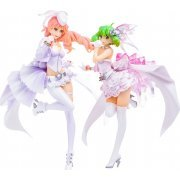 Macross Frontier the Movie The Wings of Goodbye PLAMAX MF-33 1/20 Scale Model Kit: The Wings of Goodbye -Blanches- (Japan)