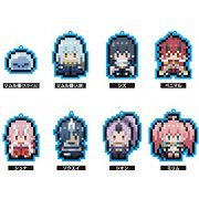 That Time I Got Reincarnated as a Slime Chara Dot Rubber Strap (Set of 8 pieces) (Japan)
