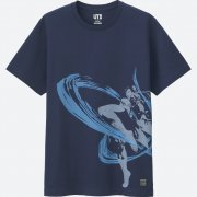 UT Street Fighter - Chun-Li T-shirt Navy (M Size) (Japan)
