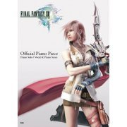 Final Fantasy XIII Official Piano Piece Piano Solo / Vocal & Piano Score (Japan)