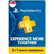 PSN Card 3+1 Month | Playstation Plus Singapore (Singapore)