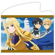 Sword Art Online Alicization B2 Wall Scroll: Alice & Kirito & Eugeo (Japan)