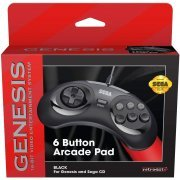 Retro-Bit SEGA Genesis 6-Button Arcade Pad (Black) (US)