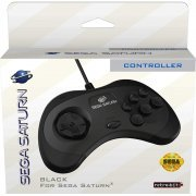 Retro-Bit SEGA Saturn 8-button Arcade Pad (Black) (US)