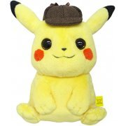 Detective Pikachu Mochifuwa Cushion (Japan)