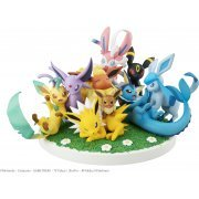 G.E.M. EX Series Pocket Monsters Pre-Painted PVC Figure: Eevee Friends (Japan)