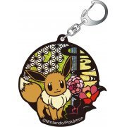 Pokemon Kirie Series Glitter Keychain: Eevee A (Japan)