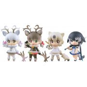 CapsuleQ Characters Kemono Friends Deformed 3D Zukan Capsule Friends -Arctic Ver.- (Set of 8 pieces) (Japan)