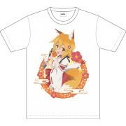 Sewayaki Kitsune No Senko-san Full Color T-shirt (S Size) (Japan)