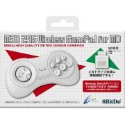 8BitDo M30 2.4G Wireless GamePad for MegaDrive (White) (Japan)