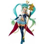 Hatsune Miku GT Project 1/7 Scale Pre-Painted Figure: Racing Miku 2018 Challenging to the Top (Japan)