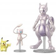 Pokemon Plastic Model Collection: Mewtwo & Mew & Pikachu Set (Japan)
