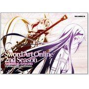 Sword Art Online 2nd Season Copyright Illustration Complete Works (Reprint) (Japan)