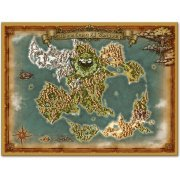 Dragon Quest XI World Map Cloth (Japan)