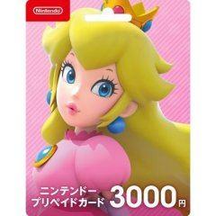 Nintendo eShop Card 3000 YEN   Japan Account