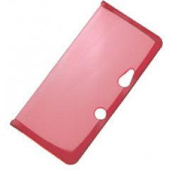 Barikata Cover 3DS (clear red)