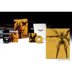 Japan zone of enders visual works of anubis art book $170. 00.