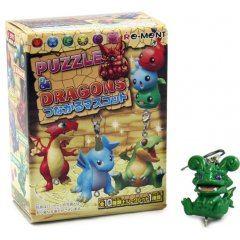 PUZZLE & DRAGONS MASCOT TRADING FIGURE (RANDOM SINGLE) Re-ment