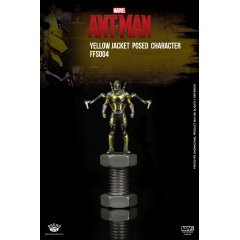 King Arts Format Figure Series: Ant Man Yellow Jacket Posed Character - King-Arts