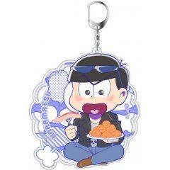 OSOMATSU-SAN ORIGINAL ILLUSTRATION MOGUMOGU ACRYLIC KEY CHAIN: KARAMATSU Matsumoto Shoji