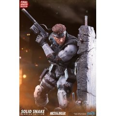 METAL GEAR SOLID STATUE: SOLID SNAKE First4Figures