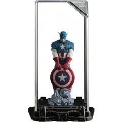 SUPER HERO ILLUMINATE GALLERY COLLECTION VOL.1: CAPTAIN AMERICA (RE-RUN) Topi