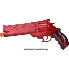THE MOVIE OF TRIGUN BADLANDS RUMBLE 1/1 SCALE: VASH'S WATER GUN CLEAR RED VER. Fullcock