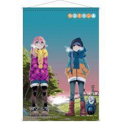 YURUCAMP B2 WALL SCROLL: NADESHIKO & RIN A Hakuba Photo Industry