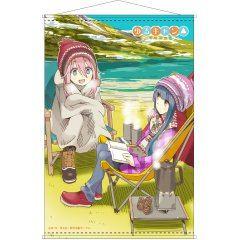 YURUCAMP B2 WALL SCROLL: NADESHIKO & RIN B Hakuba Photo Industry