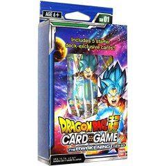 DRAGON BALL SUPER CARD GAME STARTER DECK: THE AWAKENING Tamashii (Bandai Toys)