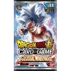 DRAGON BALL SUPER CARD GAME BOOSTER PACK: COLOSSAL WARFARE Tamashii (Bandai Toys)