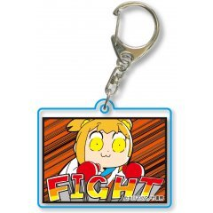 POP TEAM EPIC SQUARE CLEAR KEYCHAIN PART. 8 20 Bell House