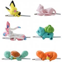 POKEMON SUYASUYA ON THE CABLE VOL. 2 (SET OF 8 PIECES) (RE-RUN) Gray Parka Service