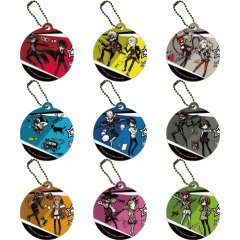 PERSONA 5 CHARA LEATHER CHARM 01 GRAFF ART DESIGN (SET OF 9 PIECES) A3
