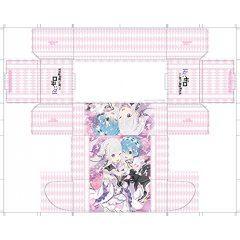 BUSHIROAD STORAGE BOX COLLECTION VOL. 243 RE:ZERO KARA HAJIMERU ISEKAI SEIKATSU: EMILIA & REM BushiRoad