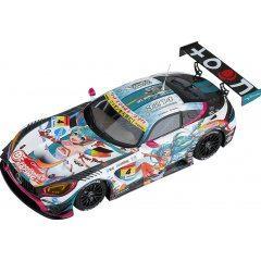 HATSUNE MIKU GT PROJECT 1/43 SCALE MINIATURE CAR: GOOD SMILE HATSUNE MIKU AMG 2016 SEASON OPENING VER. Good Smile Racing