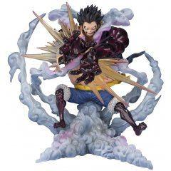 FIGUARTS ZERO ONE PIECE: MONKEY D. LUFFY FOURTH GEAR -LEO BAZOOKA- Tamashii (Bandai Toys)