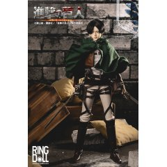ATTACK ON TITAN 1/3 SCALE BALL-JOINTED DOLL: LEVI ACKERMAN RingDoll