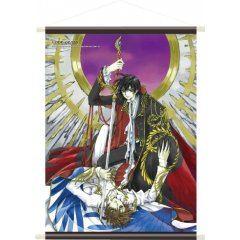 CODE GEASS LELOUCH OF THE REBELLION CLAMP ILLUSTRATION A1 WALL SCROLL: LELOUCH & SUZAKU Kadokawa Shoten