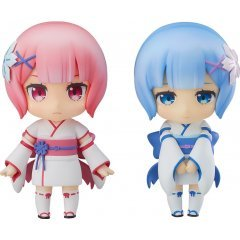 NENDOROID NO. 942 RE:ZERO -STARTING LIFE IN ANOTHER WORLD-: RAM & REM CHILDHOOD VER. [GOOD SMILE COMPANY WONDER FESTIVAL 2018 LIMITED VER.] Good Smile