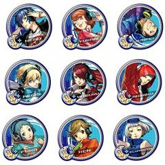 PERSONA 3: DANCING MOON NIGHT PUKUTTO BADGE COLLECTION (SET OF 9 PIECES) License Agent