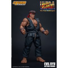 ULTRA STREET FIGHTER II THE FINAL CHALLENGERS PRE-PAINTED ACTION FIGURE: EVIL RYU Storm Collectibles