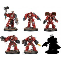 WARHAMMER 40,000: SPACE MARINE HEROES SERIES NO.2 (SET OF 6 PIECES) Max Factory
