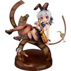 IS THE ORDER A RABBIT? 1/8 SCALE PRE-PAINTED FIGURE: CHINO JAZZ STYLE Aquamarine