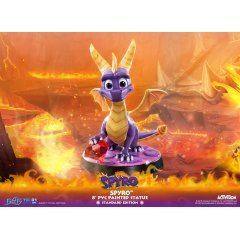 SPYRO THE DRAGON PVC PAINTED STATUE [STANDARD EDITION] First4Figures