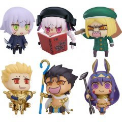 LEARNING WITH MANGA! FATE/GRAND ORDER COLLECTIBLE FIGURES EPISODE 3 (SET OF 6 PIECES) Good Smile