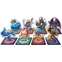 DRAGON QUEST RIVALS ACRYLIC STAND KEYCHAIN -SHIDO ADVENT! VER.- (SET OF 8 PIECES) Square Enix