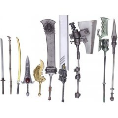NIER: AUTOMATA BRING ARTS TRADING WEAPON COLLECTION (SET OF 10 PIECES) Square Enix