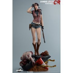 RESIDENT EVIL 1/4 SCALE STATUE: ZOMBIE CRISIS HUNTRESS CLAIRE REDFIELD Green Leaf Studio